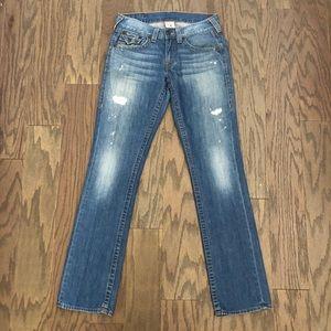 True Religion Straight Flap Pocket Super T Jean